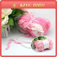 Anti - Pilling Fancy Knitting Yarns for clothes , raw or dyed hand knitting yarn Manufactures