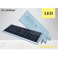 China Bridgelux 80W Solar Integrated Street Light / All In One Solar Road Lamp on sale