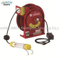 China 2 Conductors Retractable Hose Reel Incandescent Light Cord 35 Ft Length With CE Rohs Approval on sale