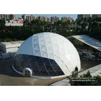 Cheap 30 Diameter Waterproof  Geodesic Dome Tents For Outdoor Wedding Event Party Tents Manufactures