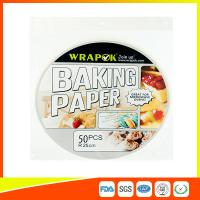 Food Baking Paper Sheets Kitchen Perforated Parchment Paper For Household Manufactures