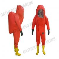 Fire fighting equipment PVC heavy-duty chemical protective rubber suit Manufactures