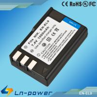 Replacement Digital Camcorder Battery for NIKON Camera EN-EL9 Manufactures