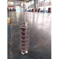 36KV 10kN Composite Pin Insulator , Railway Insulators With Groove & Bolt for sale