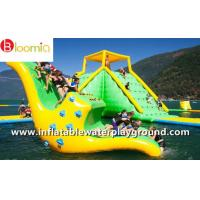Buy cheap Cool Inflatable Water Games Kids Water Slide Totter For Lake Aqua Parks from wholesalers
