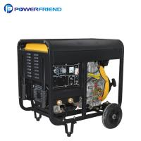 China Air Cooled Open Type 300A Diesel Welder Generator 2V88FAE Set For Welding Machine on sale