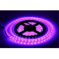 120 Leds / M SMD 5050 RGB 5A 12V Led String Light Waterproof Led Strip + 44 Key Remote Controller Manufactures