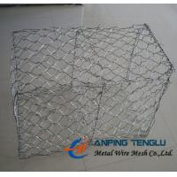 Hot Dip Galvanized Hexagonal Gabions, High Tensile&Corrosion Resistance Manufactures