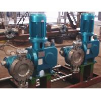 Hydraulic Diaphragm Metering Pump With Variable Speed High Pressure 2000LPH 10Bar for sale
