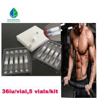 Adult Natural Human Growth Hormone HGH Pen For Body Building 5 Vials / K Manufactures