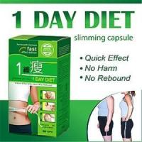 1 Day Diet Natural Slimming Capsule Quick Effect 60pcs Per Bottle Or Box Manufactures