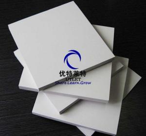 White Celuka Sheets of plastic /PVC foam sheet Manufactures