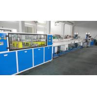 China Plastic Pipe Extrusion Line For Stacker Frame 250-1100kg/hr on sale