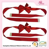 Custom Red Gift Wrap Bows for christmas presents With Self adhesive Tape Manufactures