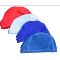 China latex silicone swimming caps on sale