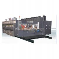 High Speed Flexo Printing Oil-Coating Drying Machine For Corrugated Board Manufactures
