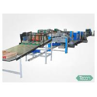 Complete Auto  Sack Making Equipment With 4 Layer Kraft Paper and 1 Layer PP Film Manufactures