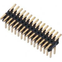 SMT LCP 0.80*1.20 Pin Header Black Dual row  With CAP H=1.4 Reel packing Gold flash ROHS Manufactures