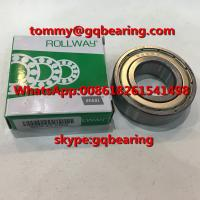 China Gcr15 steel Material ROLLWAY 6205ZZ EMQ Metal Shielded Deep Groove Ball Bearing on sale