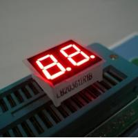 0.36 Inch Red Dual Digit 7 Segment LED Displays High Brightness For Electronic Device Manufactures