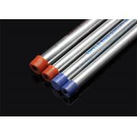 BS 4568 / BS 31  Conduit Hot Dip Galvanized Conduit Pipe with screwed ends and caps   / Manufactures