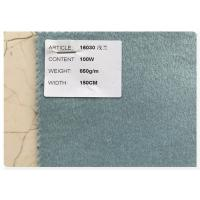 Blue Series 100% Double Faced Wool Fabric 720 Gram Per Meter For Women'S Fall Coats Manufactures