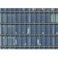 Laser Cutting Perforated Aluminum Panel Curtain Wall Low E Glass For Residential Manufactures