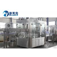 Stainless Steel Juice Bottling Plant Customized Production For Fruit Bottle Manufactures