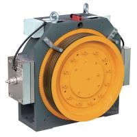 China Gearless Elevator Traction Machine With Block Brake on sale