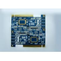 Gold Finger OSP 6 Layer Rigid PCB Board for Electronic Communication Manufactures