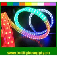PVC led flat rope 4 wires waterproof xmas home decoration led rope light Manufactures