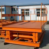 China Tavol Stationary Guide Rail Scissor Car Lift with good price Manufactures