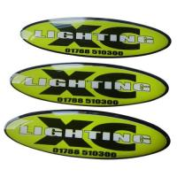 Customized Epoxy Resin Domed Vinyl Decals stickers labels tags Manufactures