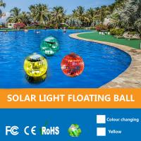 Solar Powered Color Changing LED Glow Globe Pool Night,Lamp,Outdoor Solar Floating Ball Pool Lights For Garden Manufactures