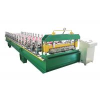 China Memorial Gate Frame Roofing Sheet Roll Forming Machine With Hydraulic Power on sale