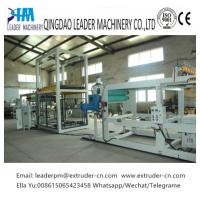 China Plastic Tray Pp Sheet Extrusion Line Thermoforming 0.15 - 1.5MM High Efficiency on sale