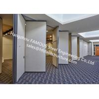 China PVC Panel Folding Doors Soundproof Sliding Accordion Partition Doors For Conference Room on sale