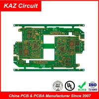 4-10 layers FR4 HDI Printed Circuit Boards Blind holes Burried holes impedance control BGA Manufactures