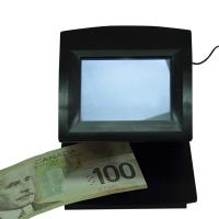 Smart Portable Infrared / IR Money Detector For Drafts , Passport , Certificates Manufactures