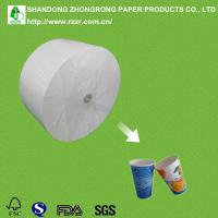 China 230+15gsm PE coated raw material for paper cups wholesale