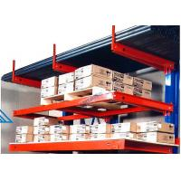 Steel Cantilever Metal Storage Racks Large Capacity Easy Loading / Unloading Manufactures