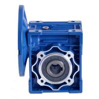 Nmrv Series Worm Drive Gearbox , Worm Gear Reducer 0.06-15KW Rated Power Manufactures