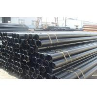 SCH40 Carbon Steel Round Hot Rolled Seamless Pipe ASTM A53 GR.B , CE SONCAP Manufactures