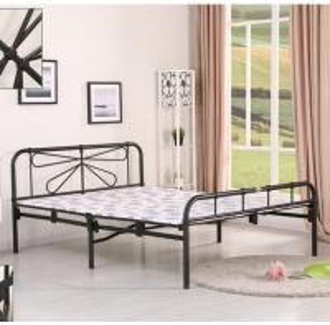 China hotel folding bed iron folding bed black folding bed B230 on sale