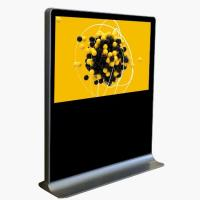 China Cold Rolled Steel Horizontal Touch Screen Kiosk , Lcd Advertising Machine on sale