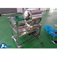 Stainless Steel Liquor Plate And Frame Filter Press 0.3Mpa Filtrating Pressure Manufactures