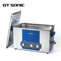 Stainless Steel Manual Ultrasonic Cleaner 500 * 300 * 150MM 120 - 400W Manufactures