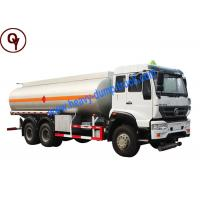 China 6X4 M5G Steyr Brand Oil Tanker Truck , 20000 Liters Fuel Delivery Truck on sale