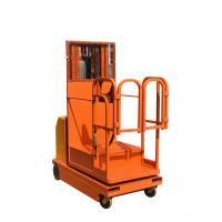 China 4.5m Battery Powered Full Electric Order Picker Lift Truck Self Propelled on sale
