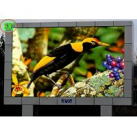 China Waterproof Outdoor Full Color P6 LED Billboards / LED TV Display Fixed Installed electronic billboard signs on sale